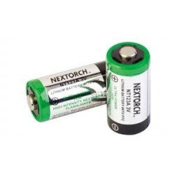 box 12 pz.batterie cr123a 3v nextorch