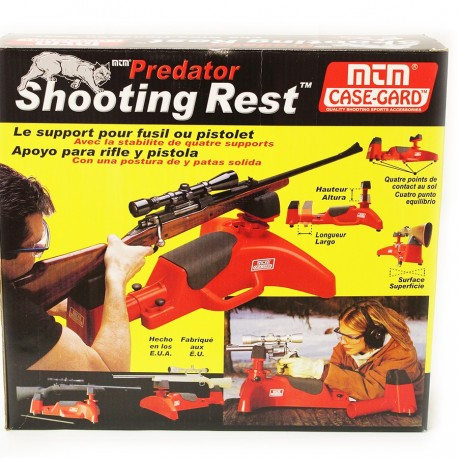 shooting rest predator mtm