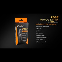 tocia fenix pd35 tactical edition 1000 lumen