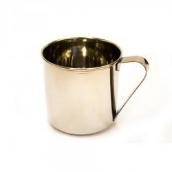 stainless steel mug lt.0,4 tazza